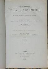 Dictionnaire de la Gendarmerie 1893 Cochet de Savigny