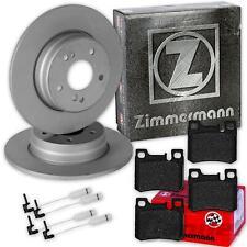 ZIMMERMANN BREMSSCHEIBEN 258mm + BELÄGE HINTEN MERCEDES W124  E-KLASSE  W201 190