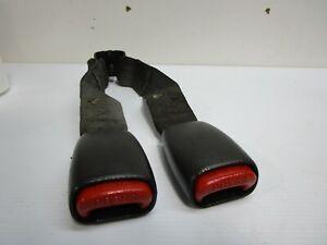 1997-2006 Jeep Wrangler TJ Rear Female Seat Belts black Buckle  393