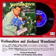 EP Gerthard Wendland: Weihnachten mit Gerhard Wendland 1963 (Philips 423 480 PE)