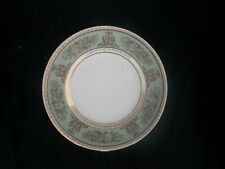 Wedgwood COLUMBIA. Green and Gold. Side plate 7 ins/ 17.8cms.