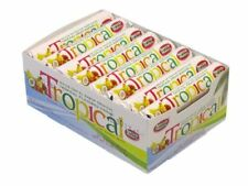 Necco Wafers Tropical - Full Sealed Box 24 rolls