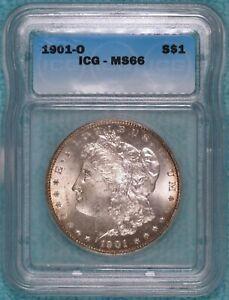 1901-O MS-66 Morgan Silver Dollar Uncirculated Unc