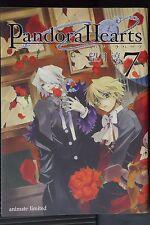 JAPAN Jun Mochizuki: Pandora Hearts vol.7 Animate Limited Edition (W Cover)