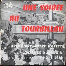 UNE SOIREE AU TOURBILLON GEORGES DUJARDIN / SIMONE REAL 25CM PATHE ST 1055