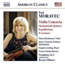 Moravec: Violin Concerto - Shakuhachi Quintet - Equilibrium - Evermore, New Musi