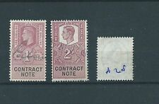 George VI (1936-1952) British Fiscal & Revenue Stamps
