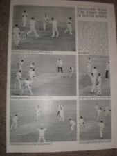 Photo article cricket England win first test South Africa 1964 ref Ay