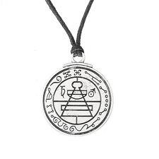 Talisman Secret Key Of Solomon Pentacle Necklace Hermetic Kabbalah Pagan Jewelry