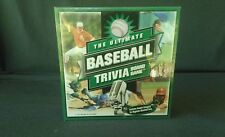 The Ultimate Baseball Trivia Board Game 2001 Copyright - NEW & Sealed