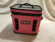 Yeti Hopper Flip 12 Cooler Limited Edition Harbor Pink Breast Cancer RARE