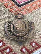 More details for original victorian royal engineers brass belt buckle badge