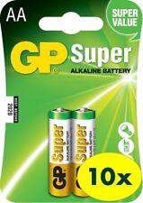 AA GP SUPER Alkaline Batteries 15A LR6 SIZE AA 1.5V (10 packs/20pcs)