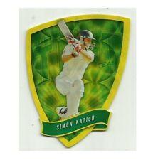 2009/10 Select Cricket Australia DIE CUT FDC11 SIMON KATICH TEST TEAM CARD ACB