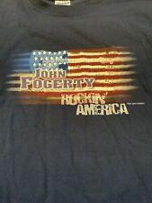 2005 John Fogerty Concert Tour Shirt Xxl 2Xl Vintage Rock Tee