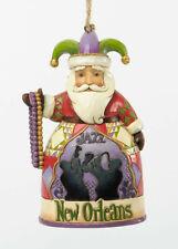 Enesco Jim Shore New Orleans Santa Hanging Ornament Nib 4036693