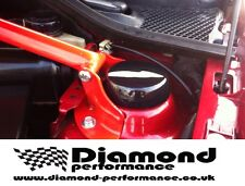 CLIO SPORT 172/182 GLOSS BLACK STRUT TOP COVERS-SET MANY COLOURS AVAILABLE