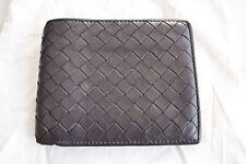 Great $480! Bottega Veneta wallet leather Nero Intrecciato Black 100% AUTHENTIC!