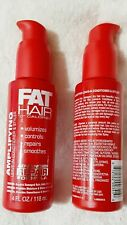 (1) FAT HAIR 0-Calorie AMPLIFYING LEAVE-IN CONDITIONER & STYLER 4oz NEW