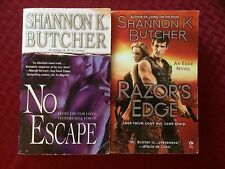 Shannon K. Butcher- LOT OF 2 SEXY ROMANTIC SUSPENSE NOVELS- PB