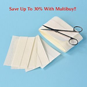 Non-Woven Plaster Dressing Adhesive Strip Medical First Aid Cuts 6cm, 8cm x 1m