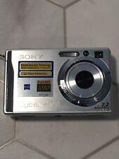 Sony Cybershot Super Steady shot DSC-W80 7.2 Mega Pixel Full HD1080, MPEG  Movie