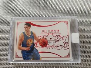 2013-14 PANINI Klay Thompson Flawless base RUBY diamond red sealed /15