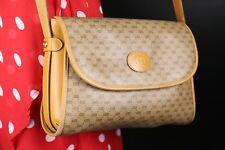 Gucci Signature Vintage monogram logo classic Bag Tan Crossbody shoulder bag