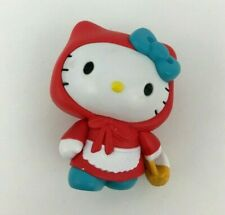 Hello Kitty Sanrio Costume Collection Red Riding Hood Vinyl Figurine 2 inches