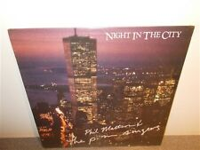 Phil Mattson & The P.M. Singers . Night In The City . Sealed LP