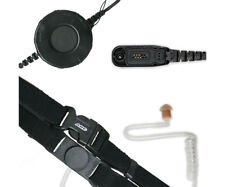 ARC T25075 Neck Strap Throat Mic for Motorola Multi-Pin XPR and APX 2-Way Radios