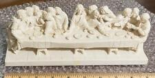 The Last Supper Scene Cast Stone Statue jds