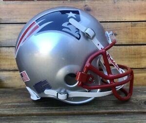 Tom Brady New England Patriots Riddell VSR4 Game Style Authentic Football Helmet