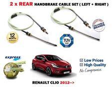 PER RENAULT CLIO MK4 0.9 1.2 1.5 dCi 2012> NUOVI 2 x POSTERIORI Freno a mano