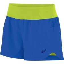 ASICS $40 Sports Apparel Womens 2-N-1 Woven Running Athletic Reflective Shorts M
