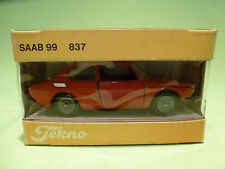 TEKNO DENMARK 837 SAAB 99 -  RARE SELTEN - VERY GOOD CONDITION IN BOX