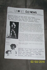 DISCONET (set A) - DJ NEWS - (9 ISSUES - 4 PAGES EACH) USA - XEROX COPIES