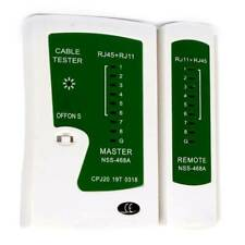 Rj45 Cat5e Cat6 Rj11 Network Cable Tester Ethernet Lan Wire Lead Testing Meter