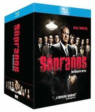 THE SOPRANOS COMPLETE SERIES SEASONS 1, 2, 3, 4, 5 & 6 blu ray BOX SET New 1 - 6