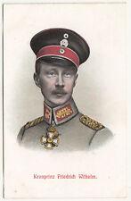 Litho Ak Kronprinz Friedrich Wilhelm 1 Wk WW1 ! (A2655
