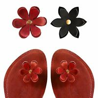 Paduka Sandals ~ Unique Leather Toe Post Womens New Shoes Flats Flip Flop Slides