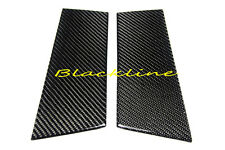For 2003~2008 350Z Z33 Real Carbon Fiber 2 Door Trim Pillar Panel Cover Nismo