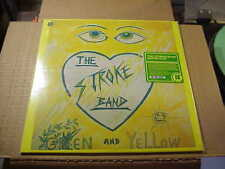 LP:  THE STROKE BAND - Green & Yellow NEW REISSUE PRIVATE ART PUNK + download