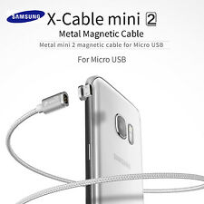 WSKEN Metal Magnetic Micro USB Fast Charger Charging Cable for Samsung Galaxy