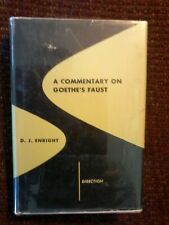 A Commentary on Goethe's Faust by DJ Enright - New Directions 1949