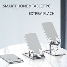 ? Handy Halterung Universal Smartphone Halter klappbar für Bürotisch Küche Reise