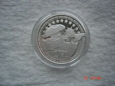 2nd Amendment Uncirculated 1 Oz .999 Fine Silver Medallion Encased Bullion Round