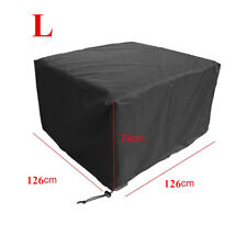 Waterproof Garden Patio Furniture Cover for Rattan Table Chair Cube 126*126*74cm