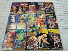 LOT of 16 Vintage WCW NWO WWF Wrestling VHS TAPES Sting Randy Savage Goldberg