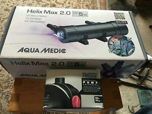 Aqua Medic Helix Max 2.0 5W UV Steriliser Filter and Hydor Pump